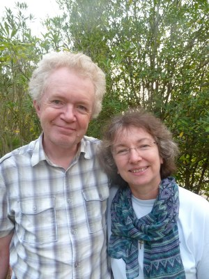 Martin and Margot Hodson at Cruzihna, Portugal (October 2014)